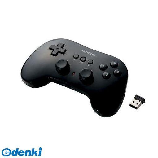 ELECOM(エレコム) [JC-U3912TBK] 小型軽量ワイヤレスゲームパッド JCU3912TBK