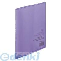 コクヨ(KOKUYO) [51157814] クリヤーブック〈キャリーオール〉(固定式)B5縦20枚ポケット 紫 ラ-5V