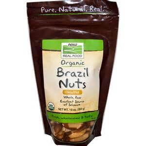 NOW Organic Brazil Nuts, Raw, unsalted 10oz / ナウ オーガニック ブラジルナッツ ロウ 10oz 284g #7022