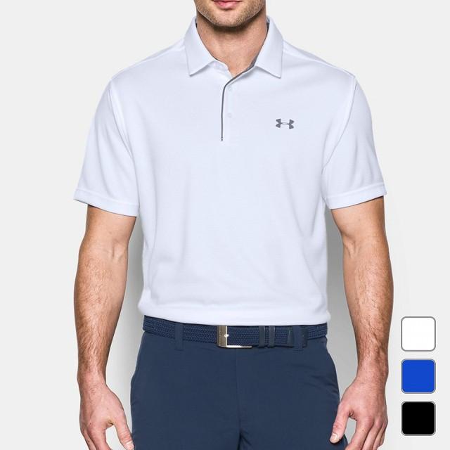 a0375db46756f5 アンダーアーマー メンズ ゴルフ 半袖シャツ UA Tech Polo (1290140) UNDER ARMOUR