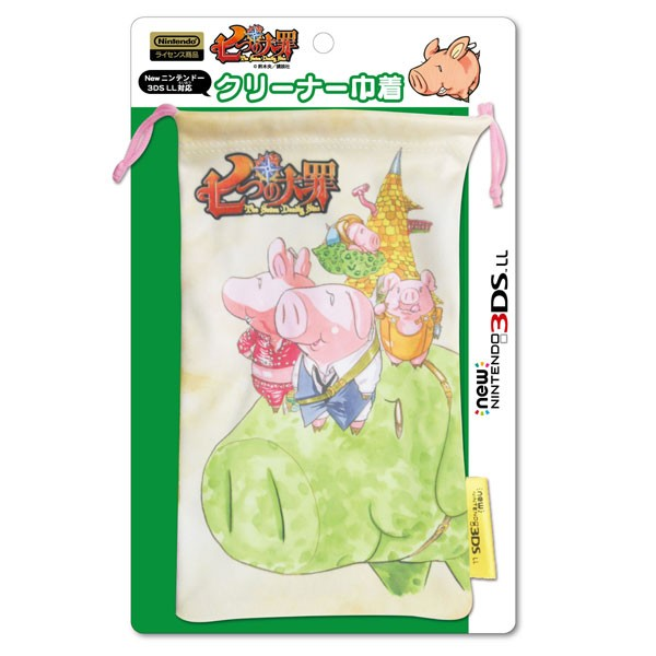 【即納★新品】3DS 七つの大罪 クリーナー巾着