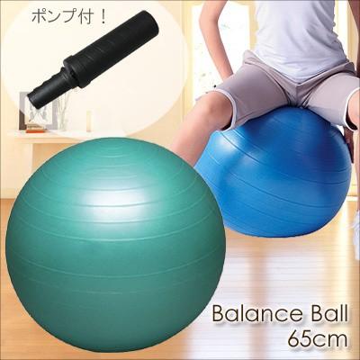 バランスボールセイフティー 65cm(ポンプ付き)【送料無料】