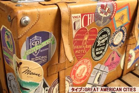 ステッカー セット スーツケース 旅行カバン トラベルステッカー レトロ 20枚セット ホテル GRAND HOTELS_SC-211714-HYS