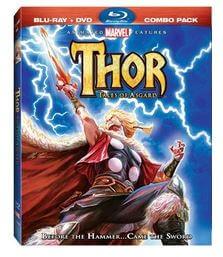 マイティ・ソー Thor: Tales of Asgard BD+DVD combo (72分収録 北米版) Blu-ray ブルーレイ【輸入品】