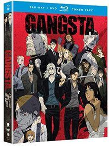 GANGSTA. BD+DVD combo (全12話 300分収録 北米版) Blu-ray ブルーレイ DVD【輸入品】