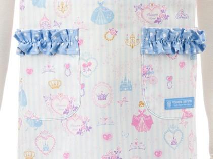 a98eb87bc0a62 バッククロス子どもエプロン(100~120cm) プリンセスドレスで彩るパウダールーム(