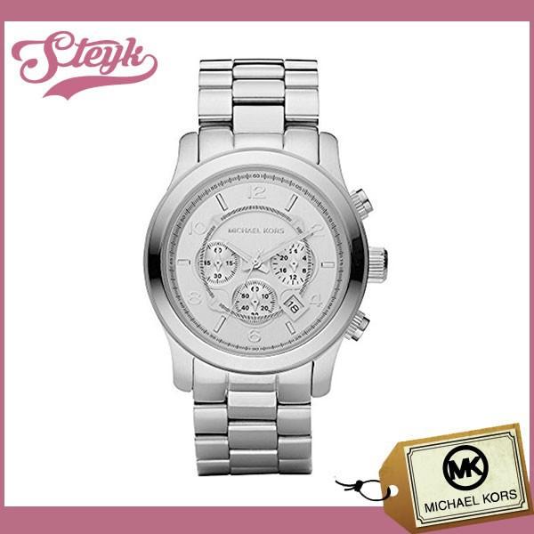 4efc811d2396 Michael Kors マイケルコース 腕時計 MK8086 RUNWAY ランウェイ アナログ メンズ