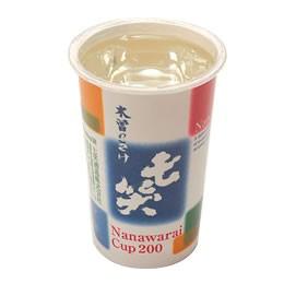 清酒 七笑 レインボーカップ 200ml