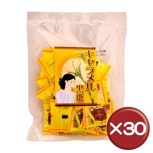 【送料無料】琉球黒糖 キャラメル黒糖 120g 30袋セット|沖縄お土産|お茶菓子[食べ物>お菓子>黒糖]