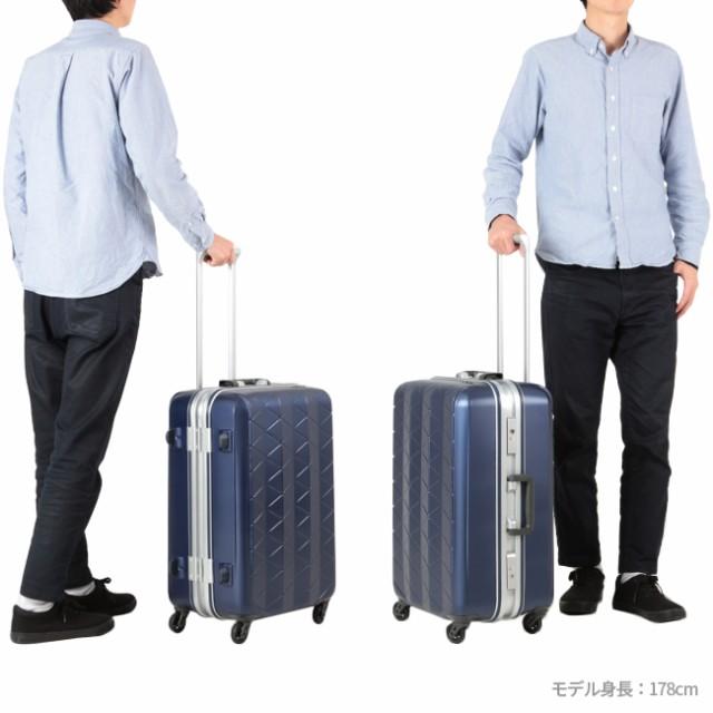 【超軽量 スーツケース M 極軽】サンコー鞄 スーパーライト MGC 56L SUNCO SUPER LIGHTS MGC1-57