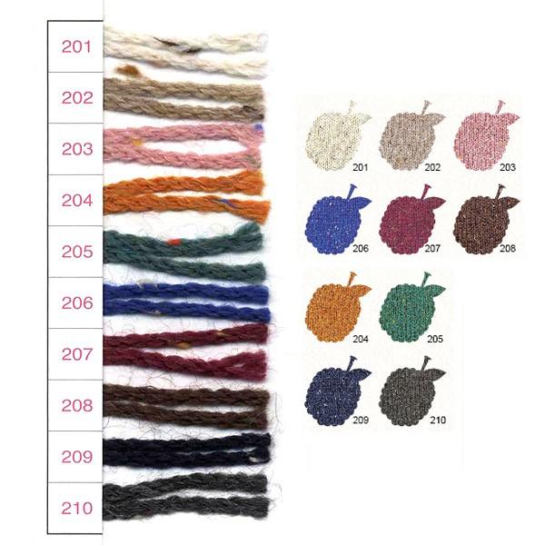 秋冬毛糸 オリムパス ツリーハウス ベリーズ(TREE HOUSE BERRIES)/5個セット[大口・まとめ買い][編物/手編み/olympus]