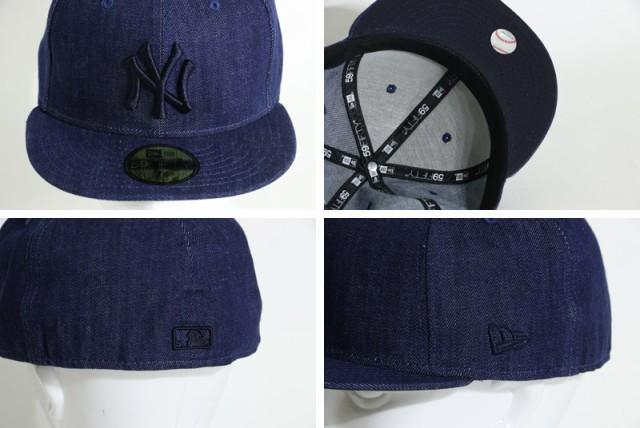 NEW ERA ニューエラ キャップ 5950 DENIM 帽子 デニム 1155756 メンズ レディース