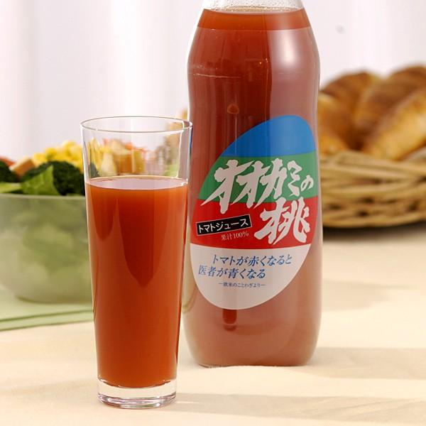オオカミの桃 トマトジュース 1,000ml【北海道お土産探検隊】