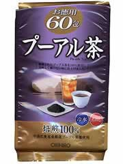 【オリヒロ お徳用プーアル茶 3g×60包】※受け取り日指定不可