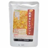 【コジマフーズ 玄米カレーリゾット 180g】