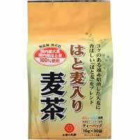 【お茶の丸幸 国産はと麦入り麦茶 ティーバッグ 10g×30袋】