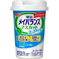 【明治 メイバランスミニカップ マスカットヨーグルト味 125ml】