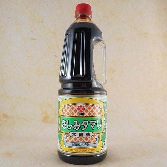 盛田 さしみタマリ 正油 (本醸造) ペット 1.8L 愛知県 盛田株式会社 しょうゆ 醤油