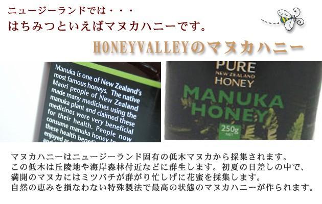 マヌカハニー/マヌカ蜂蜜 生ハチミツ 美容 健康 ニュージーランド