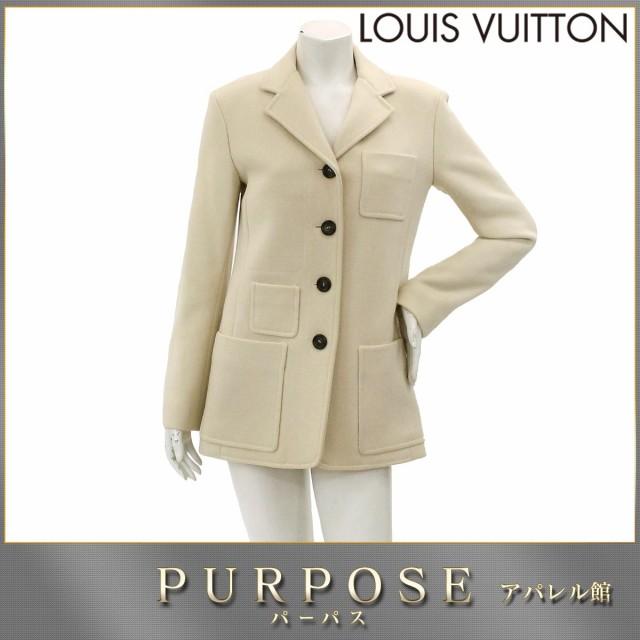 ルイヴィトン LOUIS VUITTON ジャケット ウール コート ベージュ 36サイズ LV レディース 【中古】アパレル