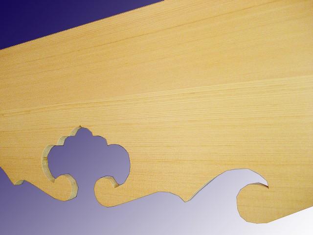総木曽桧神棚板 3尺