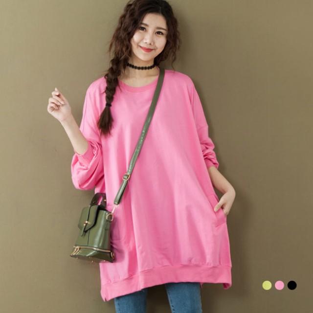 女性トップス シンプル Tシャツ 韓国風 カジュアルスタイル 無地ゆるTシャツ 柔らかい Tシャツ ゆったり 下着Tシャツ パフ袖