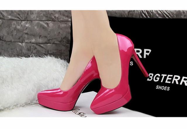 レディース 女性靴 パンプス ハイヒール ピンヒール プレーン ファッション お洒落 通勤 結婚式 脚長効果 キャバ嬢 セクシー