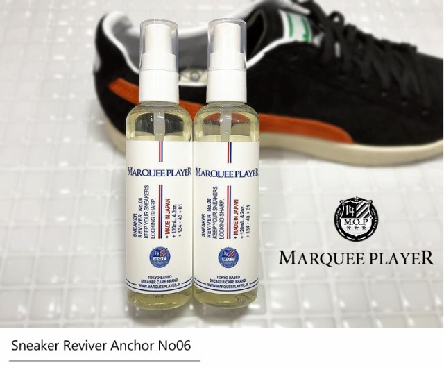 MARQUEE PLAYER Sneaker Reviver Anchor No06 スニーカー用 除菌 消臭スプレー マーキプレイヤー スニーカーケア用品 消臭 手入れ 靴