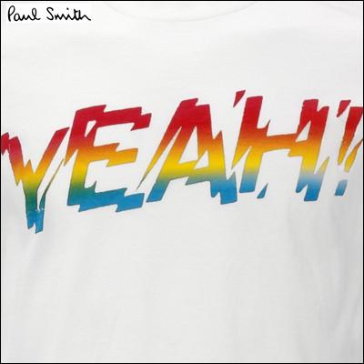 ポールスミス ポール・スミス Tシャツ ホワイト Lサイズ