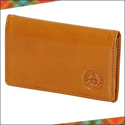 565244cae6dc Vivienne Westwood ヴィヴィアン ウエストウッド シャインORB 名刺入れ カードケース キャメル. 〇〇(メンズフアション財布。