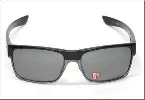 OAKLEY オークリー サングラス TWO FACE ツーフェイス ポリッシュドブラック Black Iridium Polarized アジアンフィット OO9256-06