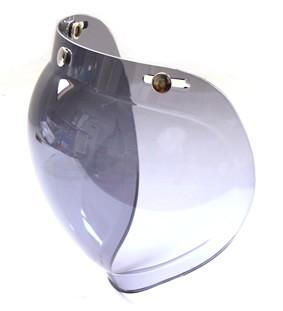 【取り寄せ品】バイク用 ヘルメットシールド HM-6 バブルタイプ スモーク