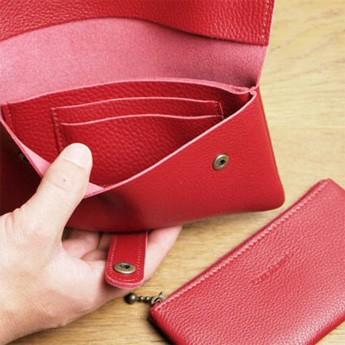 シンプルでソフトな本革の長財布 ラブハンズ LH7047-5