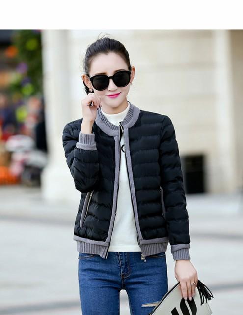 レディース服 女性 大人 冬 ダウンコート ダウンジャケット 丸襟 ショート丈 薄手 カジュアル 無地 ショート丈 軽い