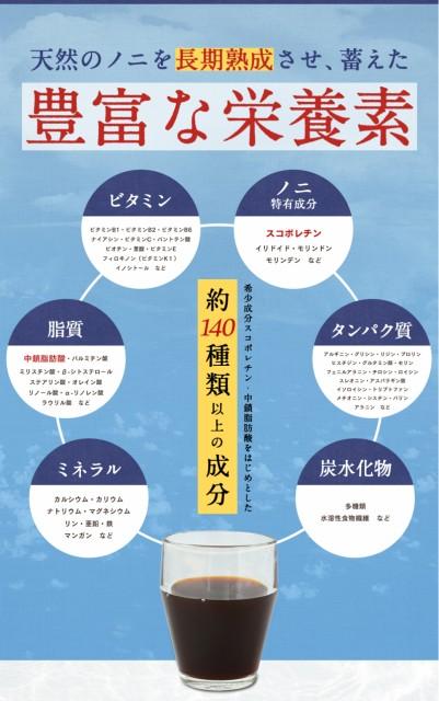 【送料無料 お試し特別価格】ノニジュース ハンズノニ サモア 半年熟成ノニジュース 900ml