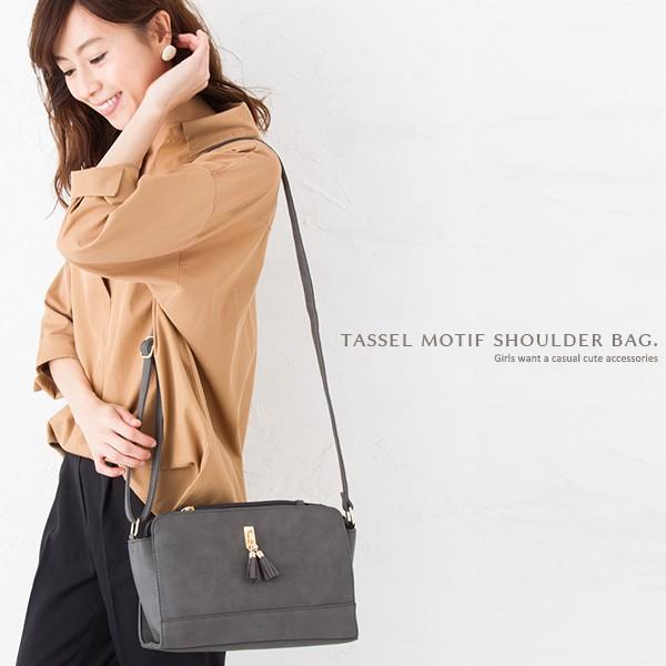 バッグ レディース 鞄 ショルダーバッグ ハンドバッグ 2way シンプル 整理 収納 ブラック ネイビー レディー