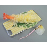 日本職人が作る  食品サンプル iPhone6ケース 天ぷらえび IP-606