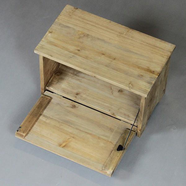 玄関ベンチ(ボックス) CGB-29 (送料無料)(ベンチ、木製チェアー、収納ボックス、イス)