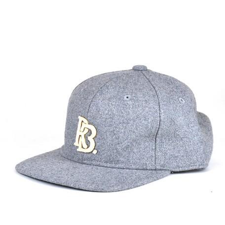 RubenRBメルトン6パネルキャップ ヤング帽子 【送料無料】(帽子、キャップ、ファッション小物)