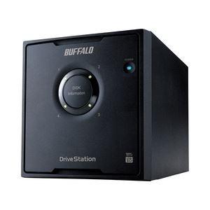 【国内即発送】 4ドライブモデル12TB USB3.0用 HD-QL12TU3/R5J ドライブステーション RAID5機能搭載 外付けHDD バッファロー-その他パソコン・PC周辺機器