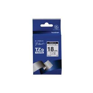【本物保証】 (業務用30セット) brother ブラザー工業 文字テープ/ラベルプリンター用テープ 【幅:18mm】 TZe-241 白に, 博多折箱 f6441012