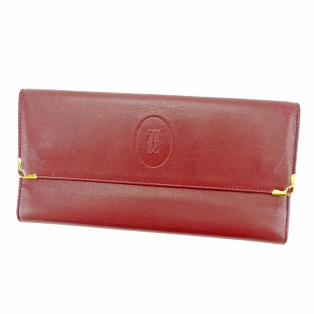 43f2788c142c カルティエ Cartier 長財布 財布 小物 サイフ 財布 小物 財布 サイフ がま口 三つ折り レディース メンズ