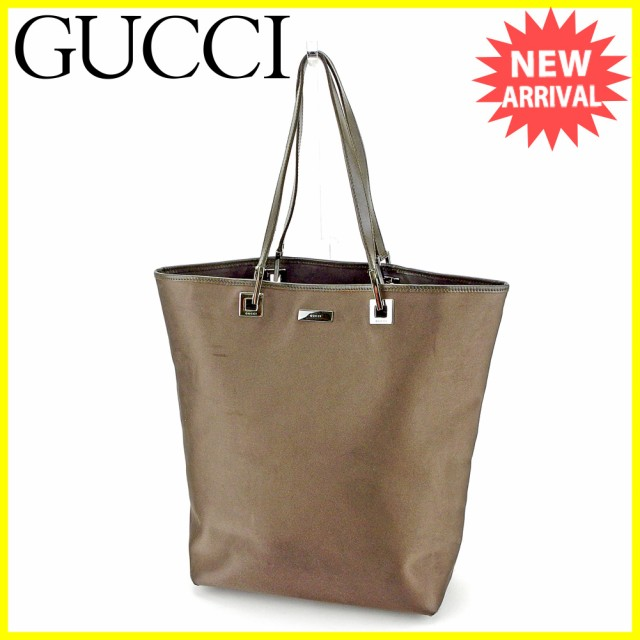 hot sale online 81f0b a0cf9 グッチ GUCCI トートバッグ バッグ バック ハンドバッグ バッグ バック メンズ可 【中古】 S772|au Wowma!(ワウマ)