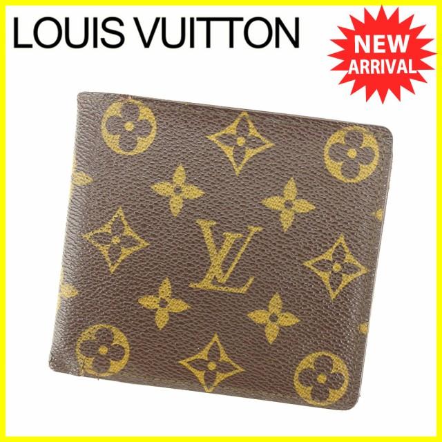 ルイヴィトン Louis Vuitton 財布 二つ折り財布 モノグラム レディース メンズ 中古 T4932の通販はWowma!(ワウマ) ,  ブランドデポ|商品ロットナンバー:292624689