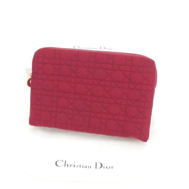purchase cheap 35c6b e5524 クリスチャン ディオール Christian Dior ポーチ 化粧ポーチ レディース レディディオール 【中古】 L529|au  Wowma!(ワウマ)
