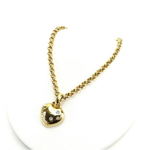 buy popular ee615 0ee10 クリスチャン ディオール Christian Dior ネックレス ペンダント アクセサリー レディース 【中古】 L687|au  Wowma!(ワウマ)