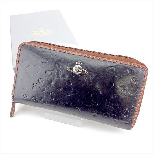 fa519e2e668f ヴィヴィアン ウエストウッド Vivienne Westwood ラウンドファスナー 財布 小物 財布 サイフ 長財布 メンズ可 オーブ