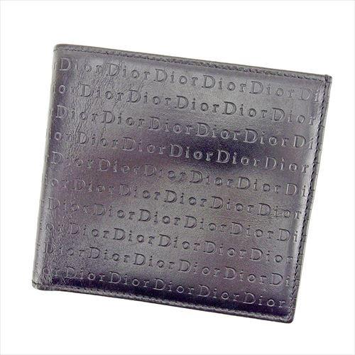 【日本産】 ディオール オム Dior homme 二つ折り 財布 小物 財布 サイフ レディース メンズ 可 ロゴ 【】 T6446, オオウダチョウ ce56ff54