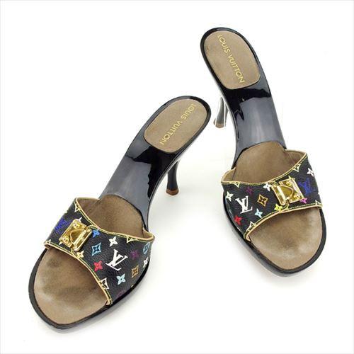 ルイ ヴィトン Louis Vuitton ミュール シューズ シューズ 靴 レディース モノグラムマルチカラー 【中古】 T6814|au  Wowma!(ワウマ)