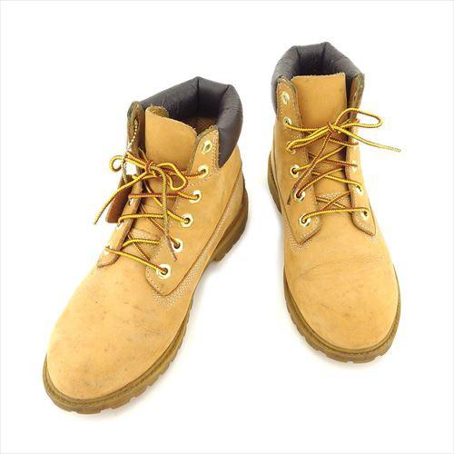 ティンバーランド Timberland ブーツ シューズ 靴 レディース 6インチブーツ 【中古】 H593|au Wowma!(ワウマ)